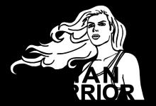 Logo Woman Warrior Active Wear